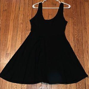 Sparkle & Fade black skater dress